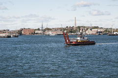 Boston Ferry. This is one of the smallest ferries in the Boston Harbor Royalty Free Stock Image