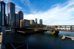 Boston Financial District Royalty Free Stock Images