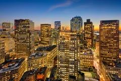 Boston Financial District Royalty Free Stock Image