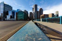 Boston-Finanzbezirk Lizenzfreies Stockfoto