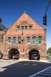 Boston Fire Station Stock Photo