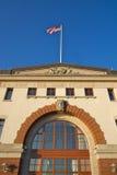 Boston fish market corporation. Daytime photo of the boston fish market corporation Royalty Free Stock Photos