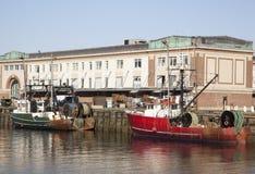 Boston Fishing Boats Stock Image
