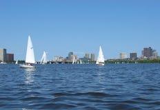 Boston, fiume di Charles 07 Fotografia Stock
