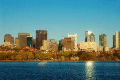 Boston with Flair Royalty Free Stock Images