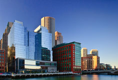 Boston Fort Point Channel Royalty Free Stock Photography