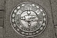 Boston Freedom trail Stock Images
