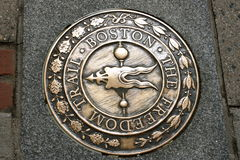 Boston Freedom trail Stock Photo