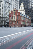 Boston Freedom Trail and Old State House Royalty Free Stock Image