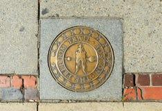 Boston the Freedom Trail Stock Photo