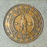 Boston the Freedom Trail Stock Image