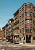 Boston gata Arkivbild
