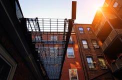 Boston gator för fyrkulle Arkivfoton