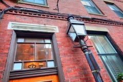 Boston gator för fyrkulle Arkivbilder