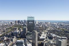 Boston-Gebäude-Kunst Stockbilder
