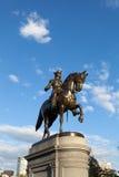 Boston George Washington Statue Imagens de Stock Royalty Free