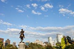 Boston George Washington Statue Stock Photos