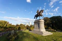 Boston George Washington Statue Stock Images