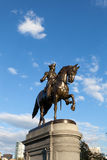 Boston George Washington Statue Royalty Free Stock Images