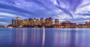boston gromadzki w centrum pieniężny Massachusetts usa Obrazy Royalty Free