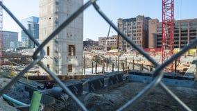 Boston håller byggande Arkivfoton