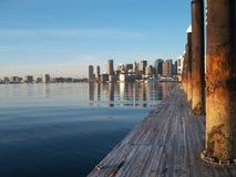 Boston hamn Arkivbild