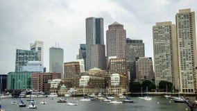 Boston hamn Arkivfoton