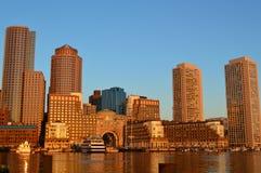Boston hamn Royaltyfria Foton