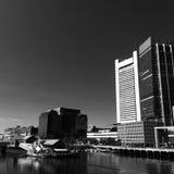 Boston hamnstad Arkivfoto