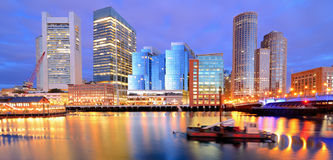 Boston Harbor Stock Image