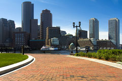 Boston Harbor Royalty Free Stock Image
