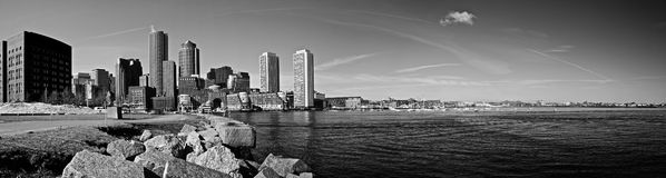 Boston harbor Royalty Free Stock Photos
