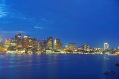 Boston harbor Royalty Free Stock Photography
