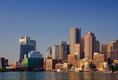 Boston Harbor Front Stock Image