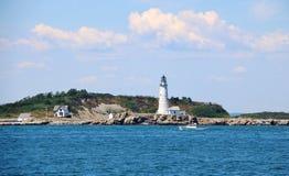 Boston Harbor Lighthouse stock image