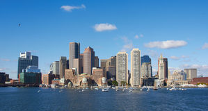 Boston harbor. Massachusetts, United states Stock Image
