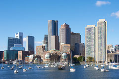 Boston harbor. Massachusetts, United States Royalty Free Stock Images