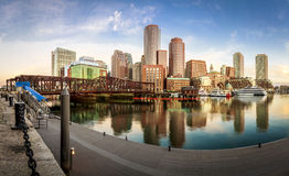 Boston Harbor Royalty Free Stock Photography
