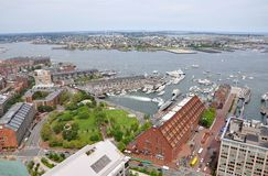 Boston Harbor and Waterfront Stock Photos
