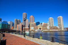 Boston Harbor Waterfront Royalty Free Stock Photography