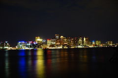 Boston harbor Stock Photo