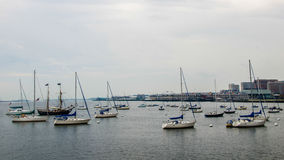 Boston Harbour. This is harbour for tourist in Boston royalty free stock photo