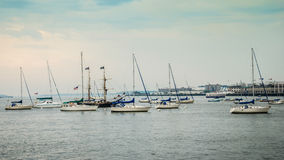 Boston Harbour Royalty Free Stock Photo