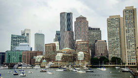 Boston Harbour stock photos