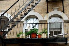 Boston-Hausfragment lizenzfreie stockfotos
