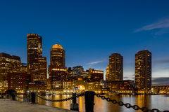 Boston hellblau Stockfotos