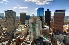 Boston High Rises Royalty Free Stock Photo
