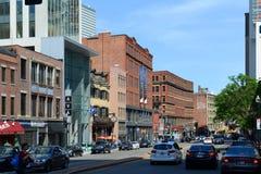 Boston Historic Buildings, Massachusetts, USA Royalty Free Stock Photos