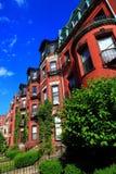 Boston historiskt hus fotografering för bildbyråer