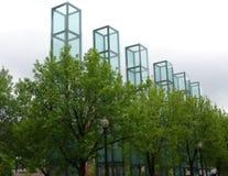 Boston Holocaust Memorial. Museum stock images